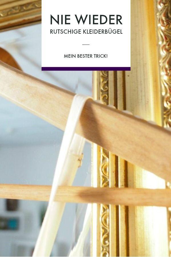 Nie wieder rutschige Kleiderbügel – mein Tipp aus dem ARD-Buffet