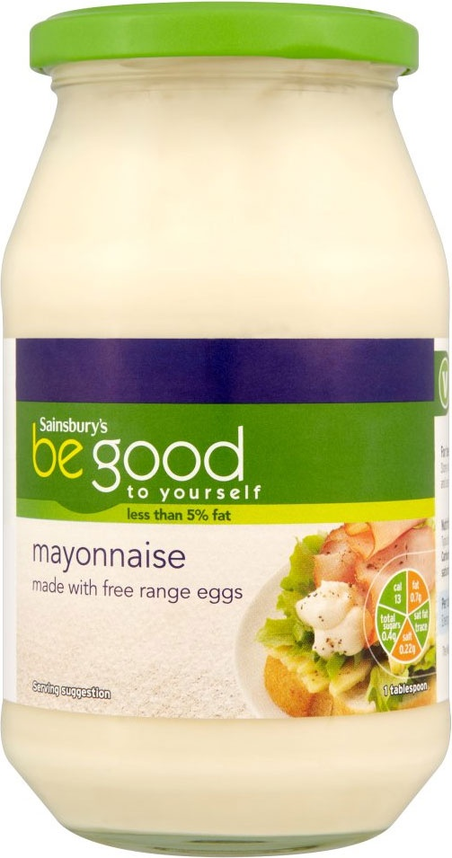 Sainsbury's Be Good to Yourself Mayonnaise (495ml)