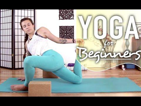 yoga for runners  30 minute lower body hamstring  leg