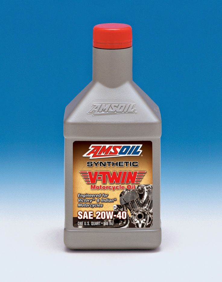 Victory Motorcycle Oil - See more AMSOIL motorcycle products at http://shop.syntheticoilandfilter.com/motor-oil/motorcycle/