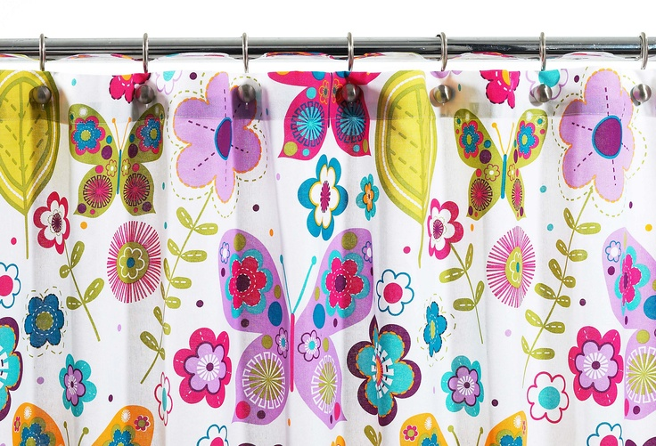 Zoo Butterflies Shower Curtain on OKL today