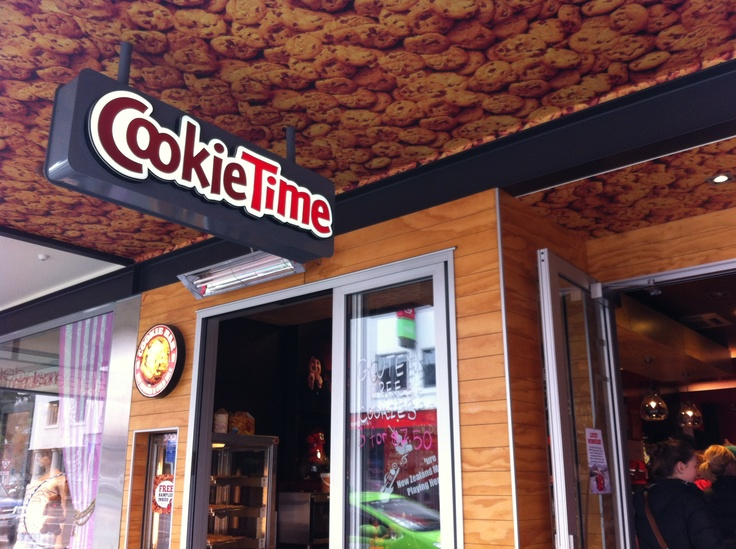 CookieTime shop in Queenstown NZ