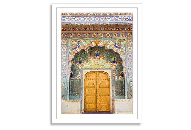Grant Faint, Peacock Door in Palace