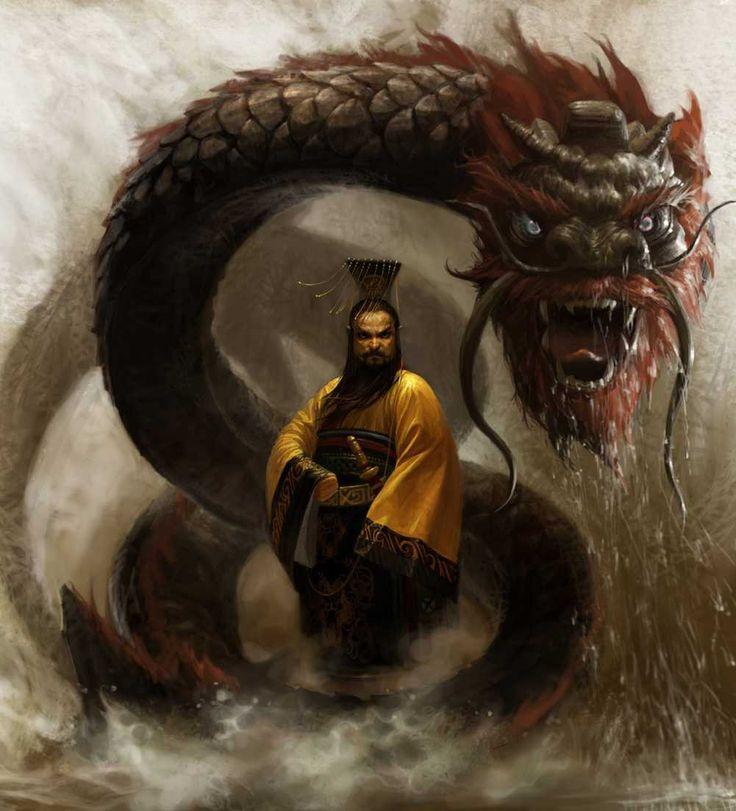 dragão_coreano_pintura2 mitos e educação