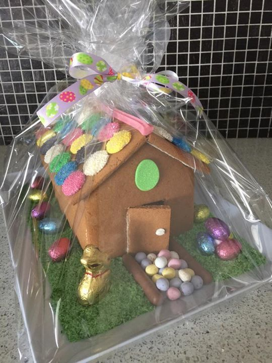 Easter ginger bread house is $55