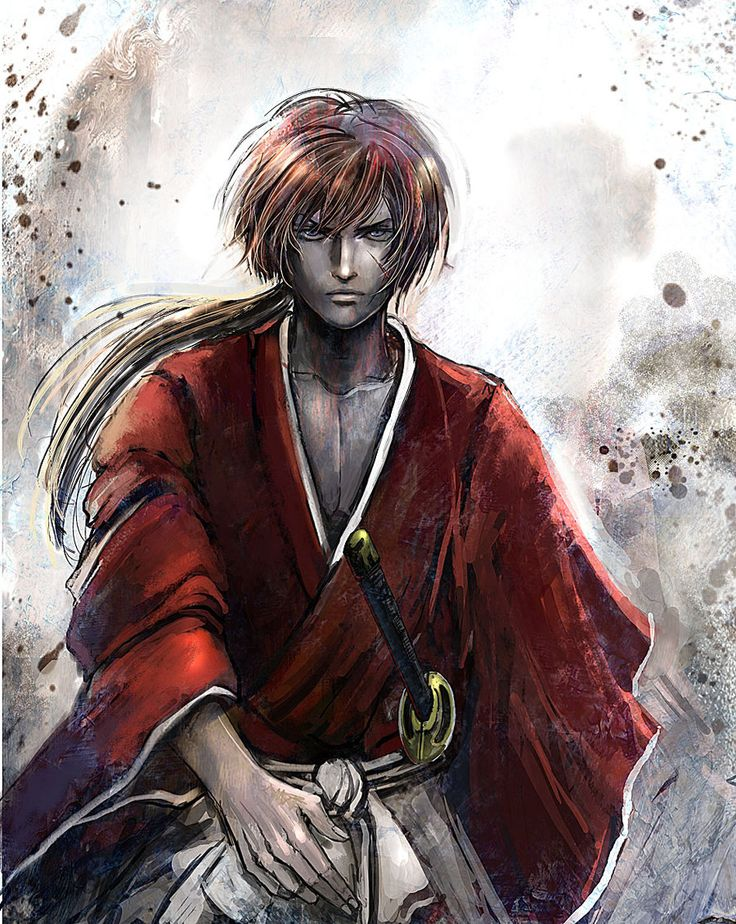 Kenshin Himura by Gold-copper.deviantart.com on @deviantART