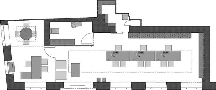 Oficinas administrativas y agencia de viajes, por Vicente Vidal Estudio - Interiores Minimalistas