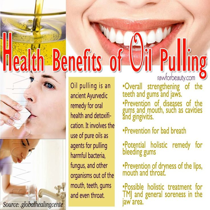 Health Benefits of oil pulling.  This is facinating to me. Swishing with cold pressed sesame oil or other oils like cold pressed coconut, or olive oil can help prevent gum disease and remedy bad breath!  #natural #breath #health #gums #cure #oil #sesame
