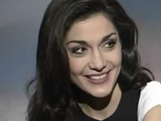 a younger Despina Vandi - Greek Singer