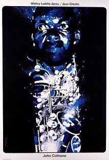 John Coltrane, Polish Jazz Poster