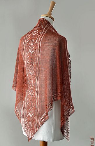 Firebird knitting pattern by foldi