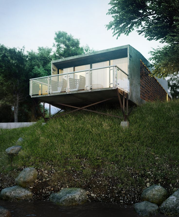 CGarchitect   Professional 3D Architectural Visualization User Community |  The Making Of Siek Box House