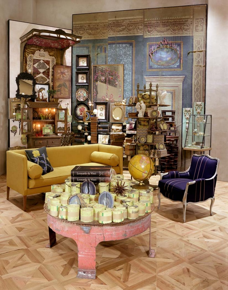 Lots of clever displays at Rockefeller Center Anthropologie store