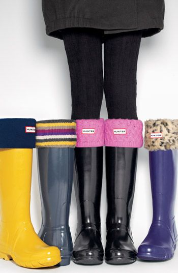 Hunter Wellington boots...Love them in every color!