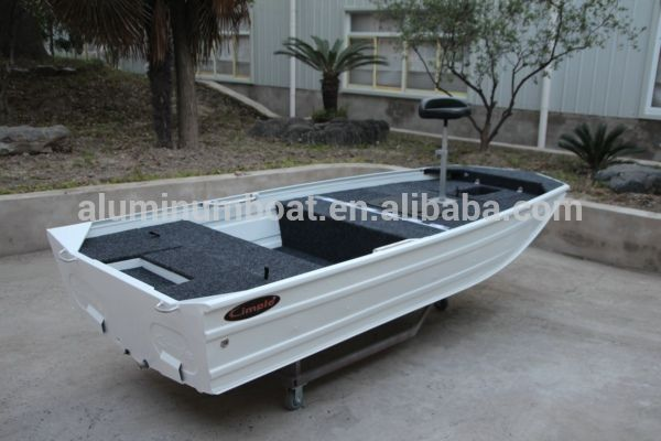 395 Bass Pro- Aluminum Bass Fishing Boat