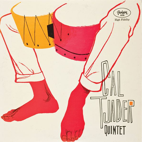 Cal Tjader Quintet from 1956 by Betty Brader, who is known more for her fashion illustrations.