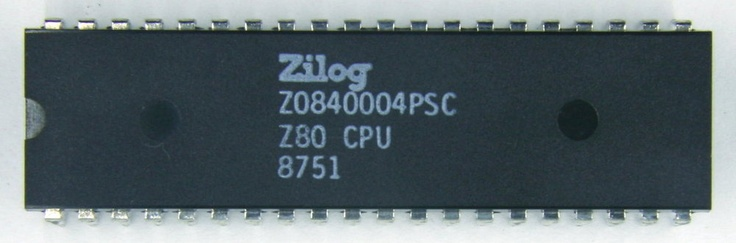 The Zilog Z80 cpu was the Schizzle 35-40 years ago.:D The Big computer-revolution