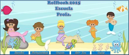 Mermaid Salon Contenido rollbook 5 clases 28 notas.xlsx $15