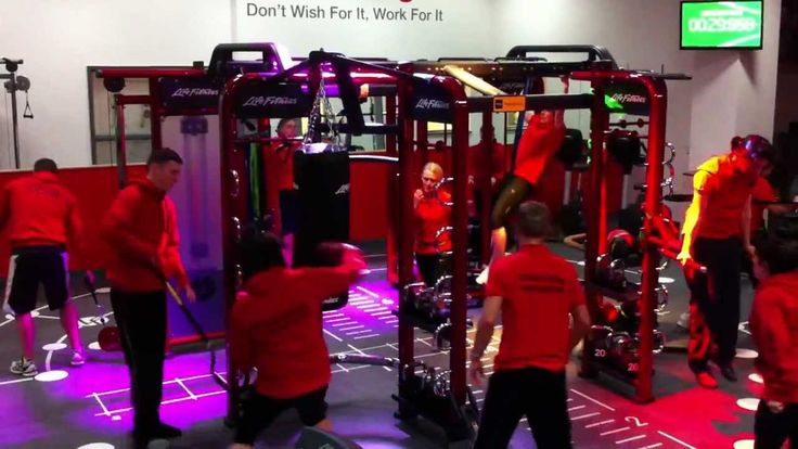 Check out SYNRGY360 in action at the St. Peter's Leisure Center in Burnley, England!