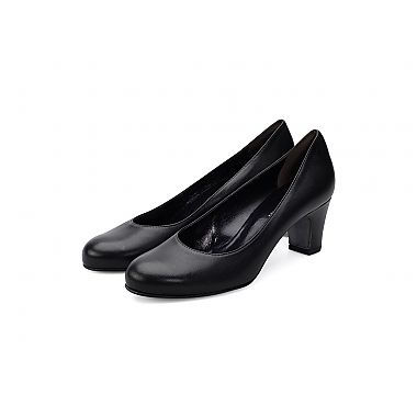 Torretti Elegant Leather Pump - A softly rounded toe and elegant heel shape, combined with exceptional quality Italian leather.  For our full collection visit http://www.louisemshoes.com. #louisemshoes