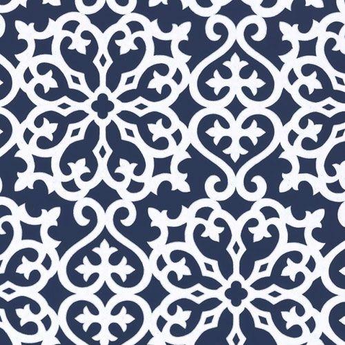 Derbyshire Damask Wallpaper Color Trend Navy Amp Silver