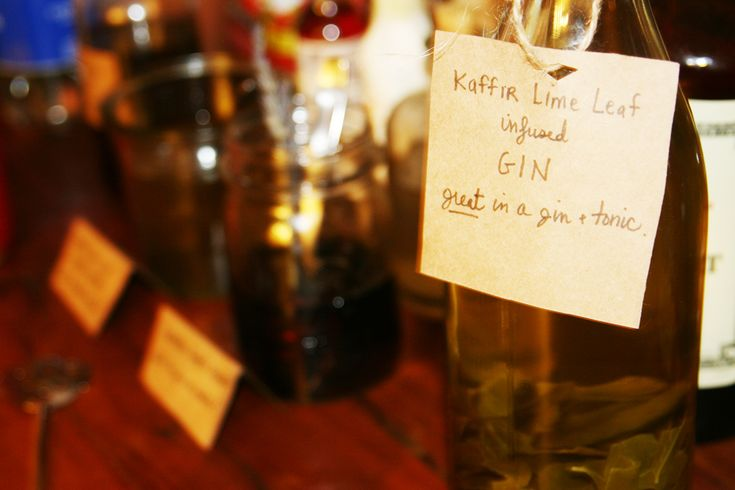 kaffir lime leaf infused gin... | Foodie | Pinterest | Limes, Cas and ...