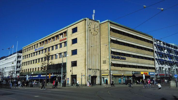 Art Deco Architecture Goteborg, Norra Hamngatan