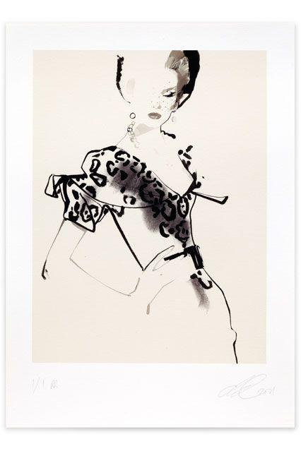 David Downton  Dior Couture AW 2009