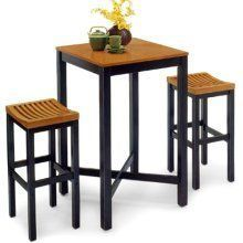 Parker 3 Piece Pub Table Set