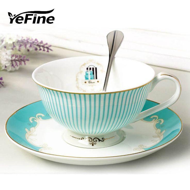 Yefine керамики Кухня инструмент Британский Стиль Классический чашки кофе набор роскошный подарок керамические фарфоровые чашки чая день черный чашкикупить в магазине YeFine Ceramic StoreнаAliExpress