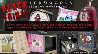 Pinkbagoly: BLACK FRIDAY HÉTVÉGE!