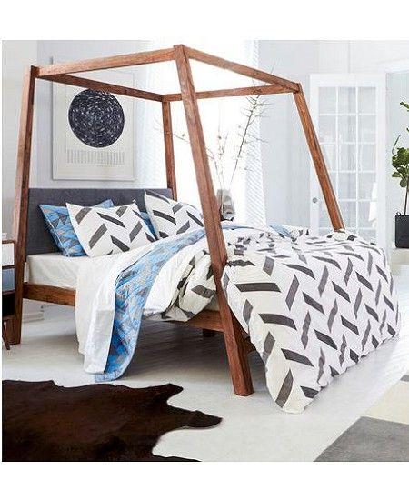 1000 ideas about cool bed frames on pinterest diy platform bed platform beds and diy bedroom - Cool diy bed frames ...