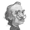 Charles Bukowski illustration portrait Art Print by Stavros Damos | Society6