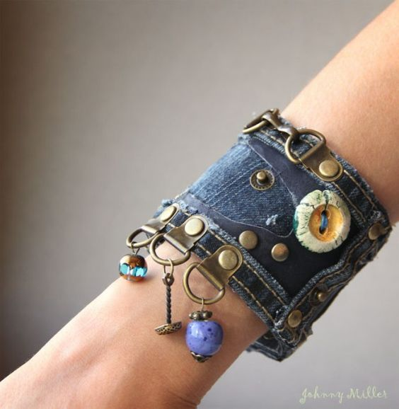 Recycled cuff: