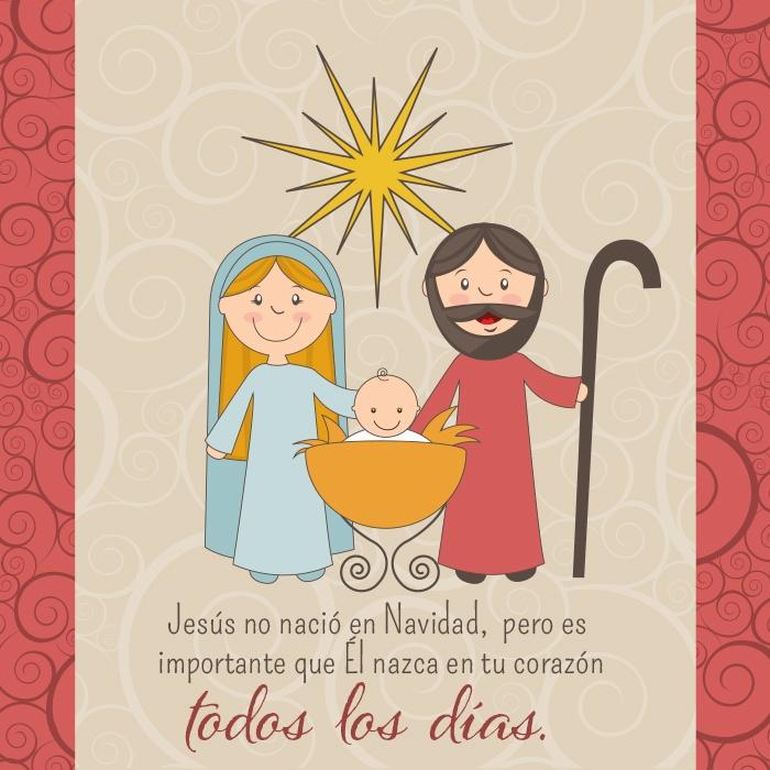 La navidad es una fiesta cristiana? HAz clic en la imagen para saber más.