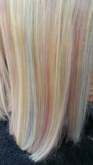 My little pony rainbow hair @ Blush