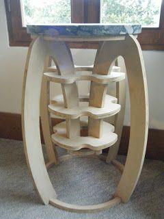 Design Flow: CNC furniture and sharpie art work