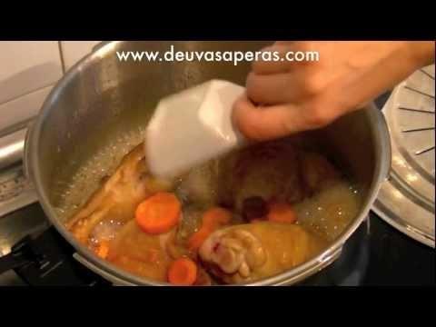 Receta de pollo a la cerveza en olla r pida marisol pink - Cocinar con olla express ...