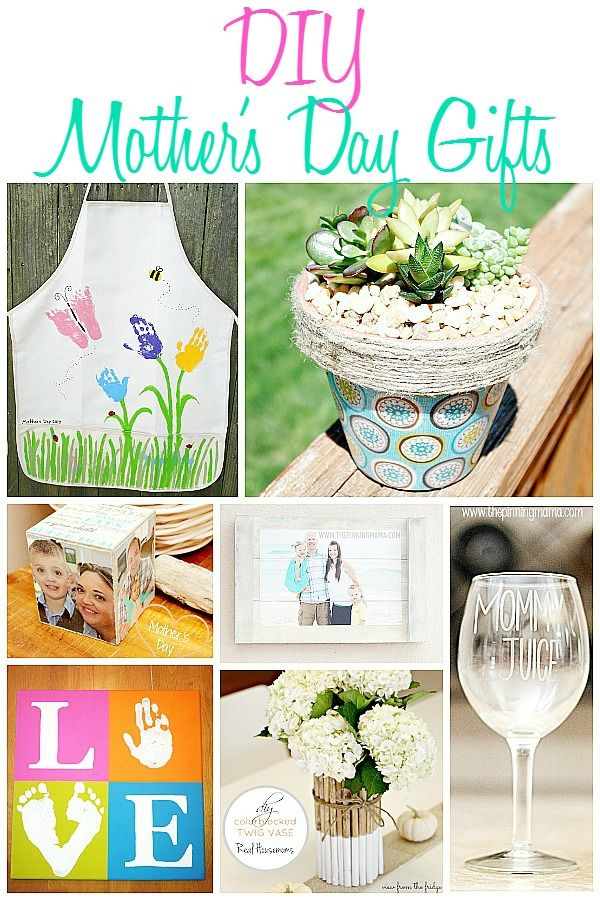 Diy Mother 39 S Day Diy Gift Ideas Mother Day Gifts Mother