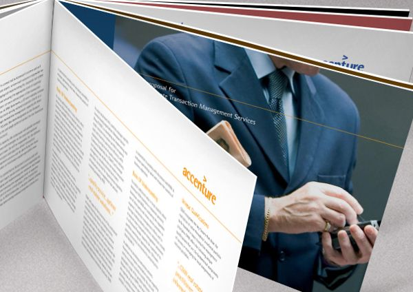 Request for Proposal / Proposal to Serve Presentations by Peter Burns, via Behance