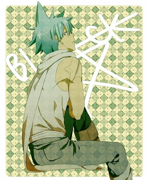 Am i the only one who thinks that Black Star looks better in casual clothes?? \(//∇//)\