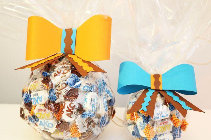 Akokola julkula - Candy -christmas decoration by DiySweden