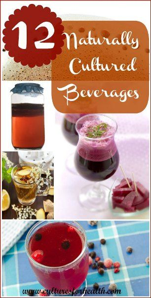 Naturally Cultured Beverages