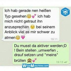 Lustige WhatsApp Bilder und Chat Fails 190 - Heißer Typ