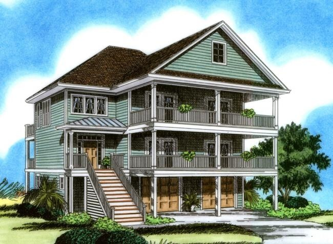 11 best waterview house plans images on pinterest