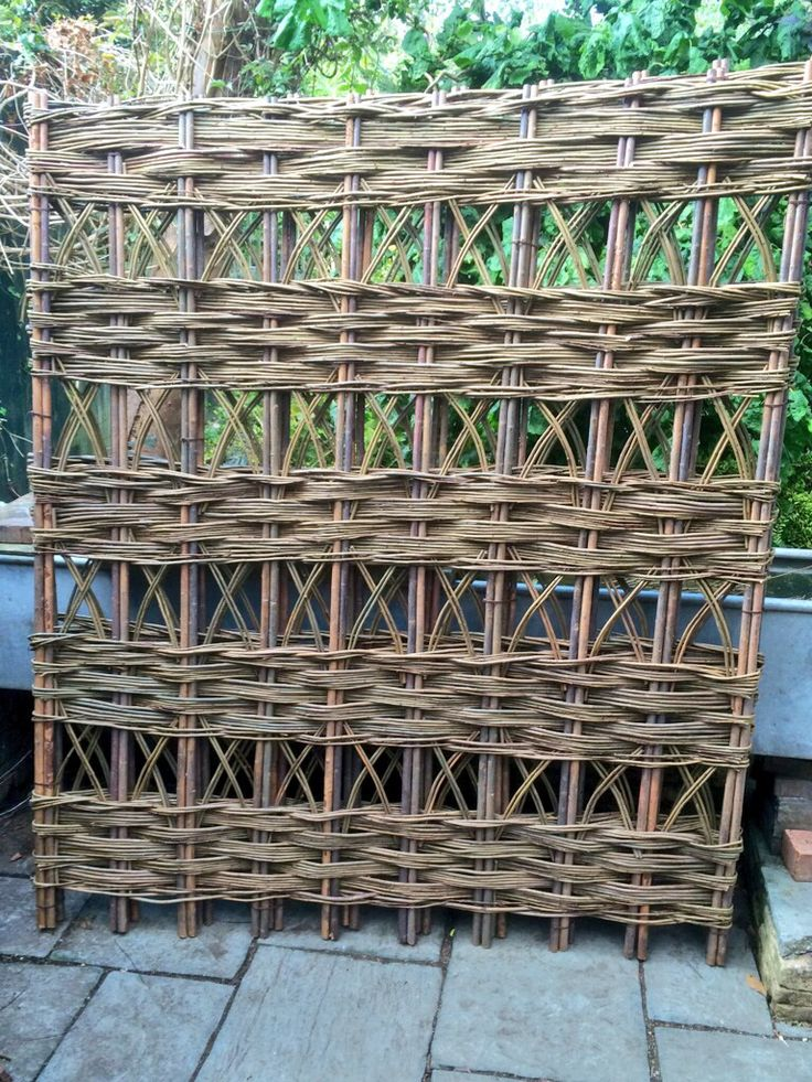 1000 images about willow on pinterest raised beds for The range garden screening
