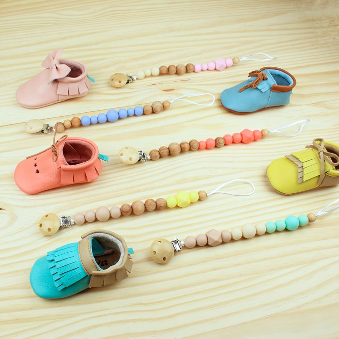 Moccs + Pacifier in all colors!! || Moccs + Chupetero en todos los colores!!!