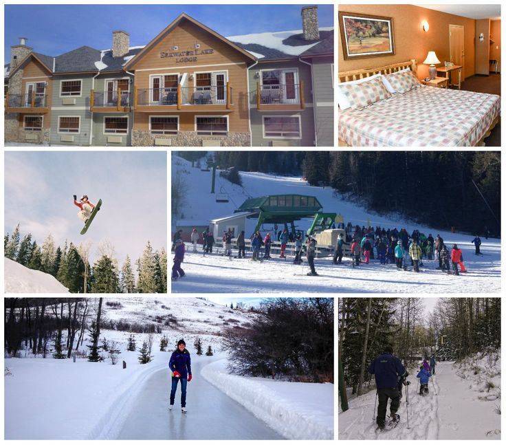 Elkwater Lake Lodge Ski Stay and Play for family reunions