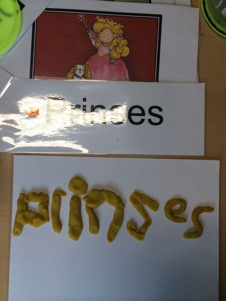 Begeleide of zelfstandige activiteit - Letters namaken met plasticine