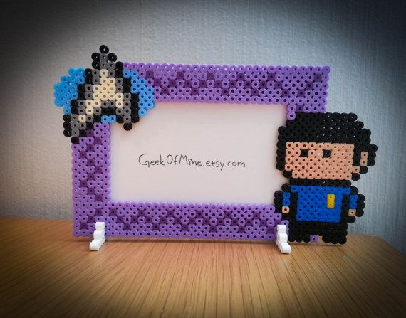 Love may be illogical but this Star Trek / Spock inspired photo frame is the perfect way to show your love for this classic tv-series. Its made